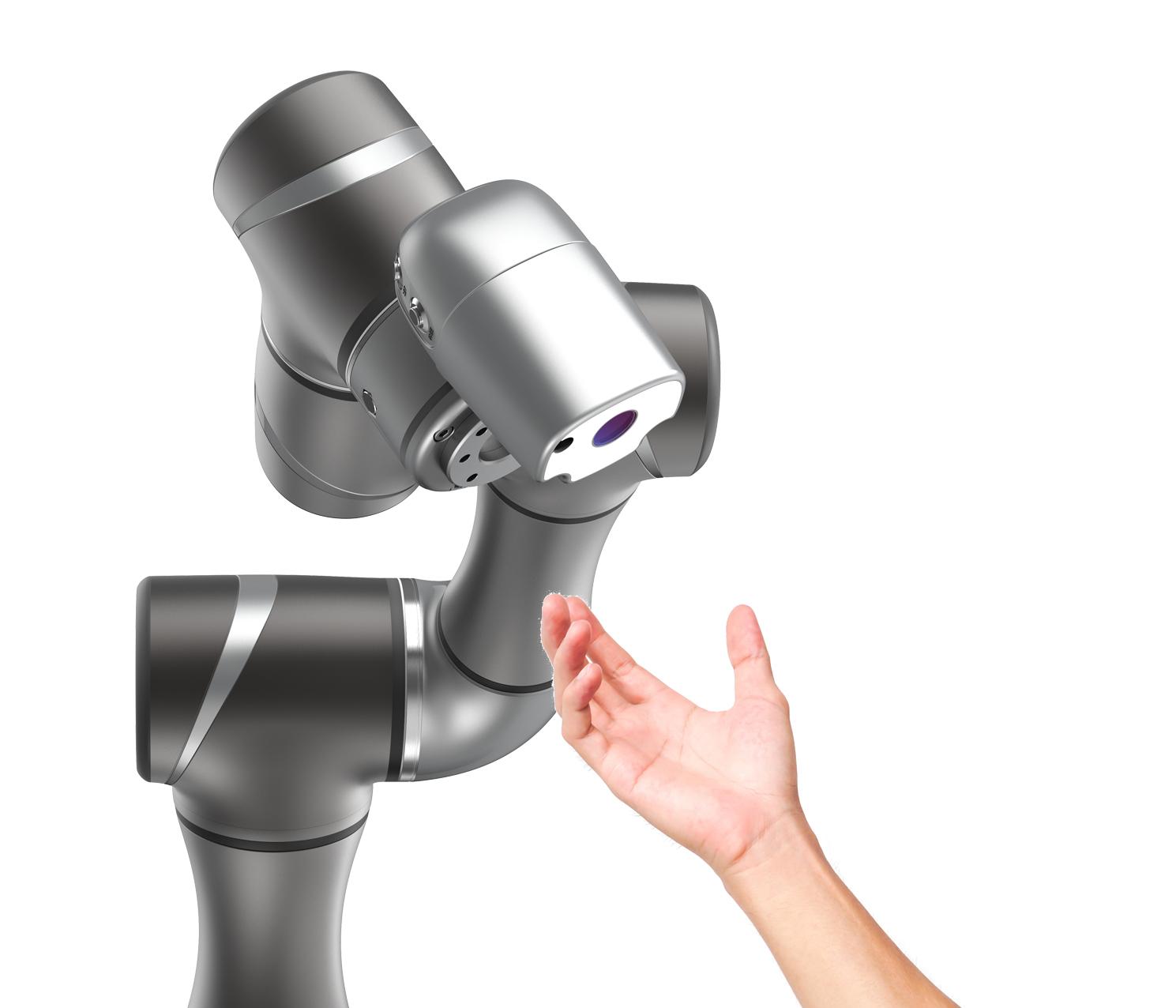Die TM-Cobots der taiwanesischen Techman werden in Europa nicht nur über Omron vertrieben, sondern auch über Systemintegratoren wie Atlanta Antriebssysteme. Die Leichtbauroboter der Reihe TM lassen sich einfach und schnell intuitiv programmieren.