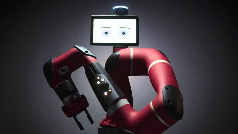 Wird nun in Deutschland bei der Hahn Group weiterentwickelt: Der Sawyer von Rethink Robotics aus Boston/USA mit einer Traglast von 4 kg.