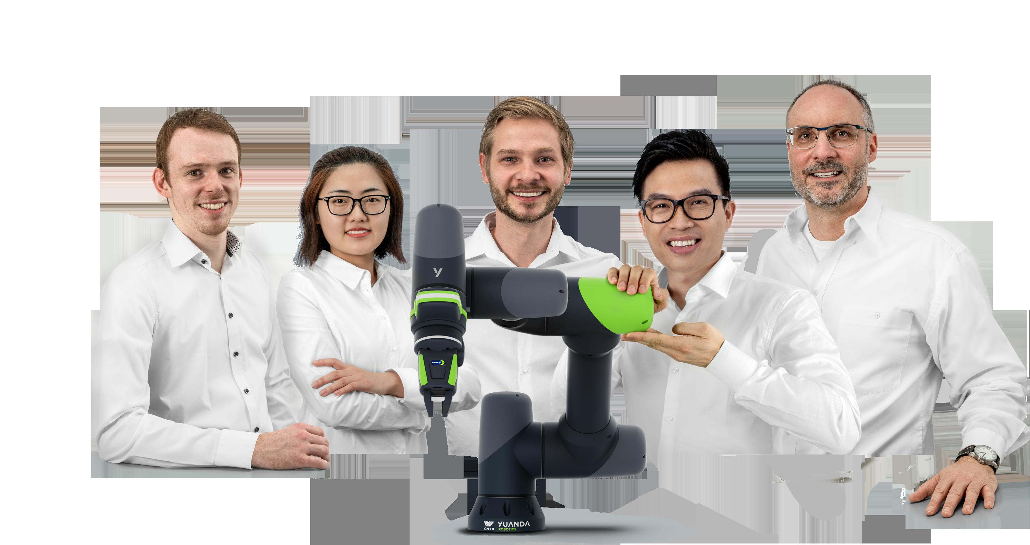 Deutsch-Chinesische Freundschaft: Yuanda Robotics wurde von deutschen Ingenieuren um Professor Tobias Ortmaier (Universität Hannover) zusammen mit der Shenyang Yuanda Aluminium Industry Group gegründet. Nun sucht Yuanda erste Pilotanwender.