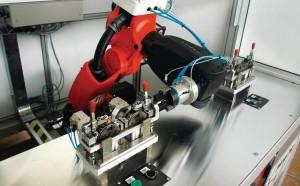 Roboter mit 1 meter reichweite und 7 kilogramm traglast for Boden 25 prozent
