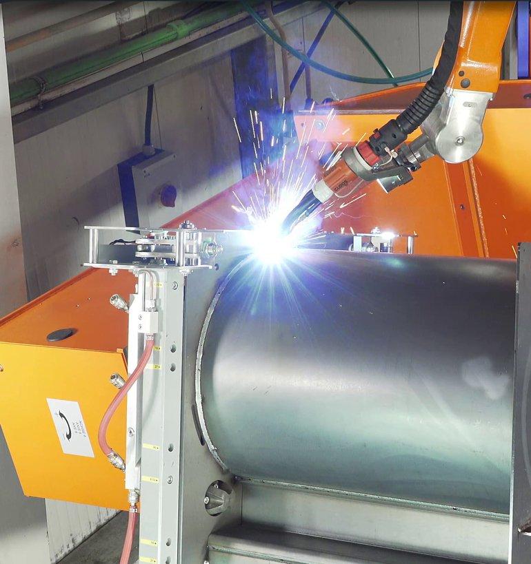 All in one-Schweißsystem vereinfacht Fertigungsprozess Da ist Dampf ...
