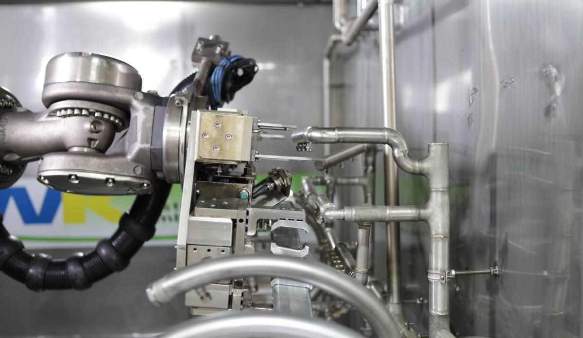 KUKA Roboter bei BMW Dingolfing