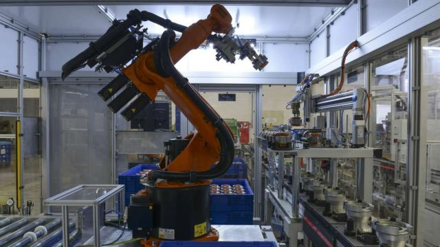 KUKA Roboter bei Miele