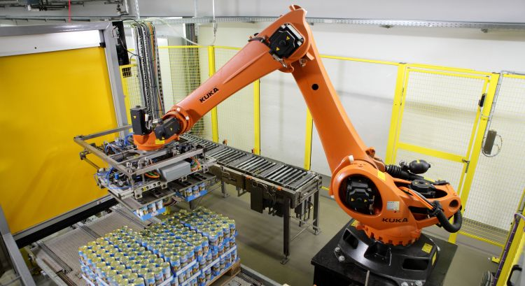 KUKA Roboter bei Zimmermann