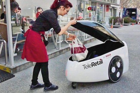 Lieferroboter kommen