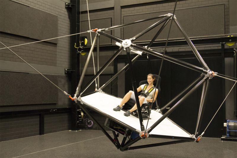Seilsimulator Robotik